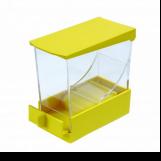 Dyspenser do wałeczków - żółty